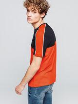T-shirt bi-matière