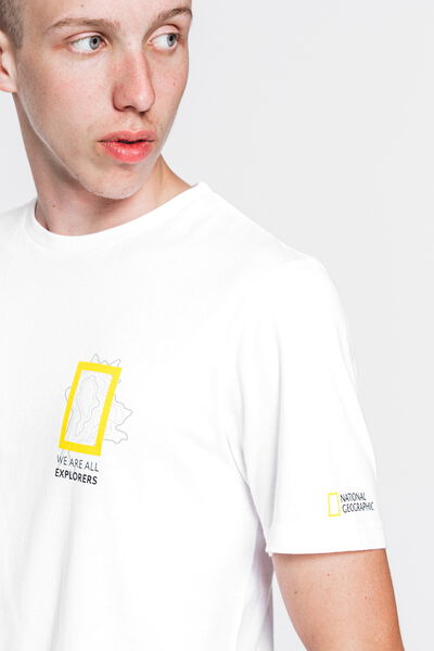 T-shirt National Geographic en coton bio