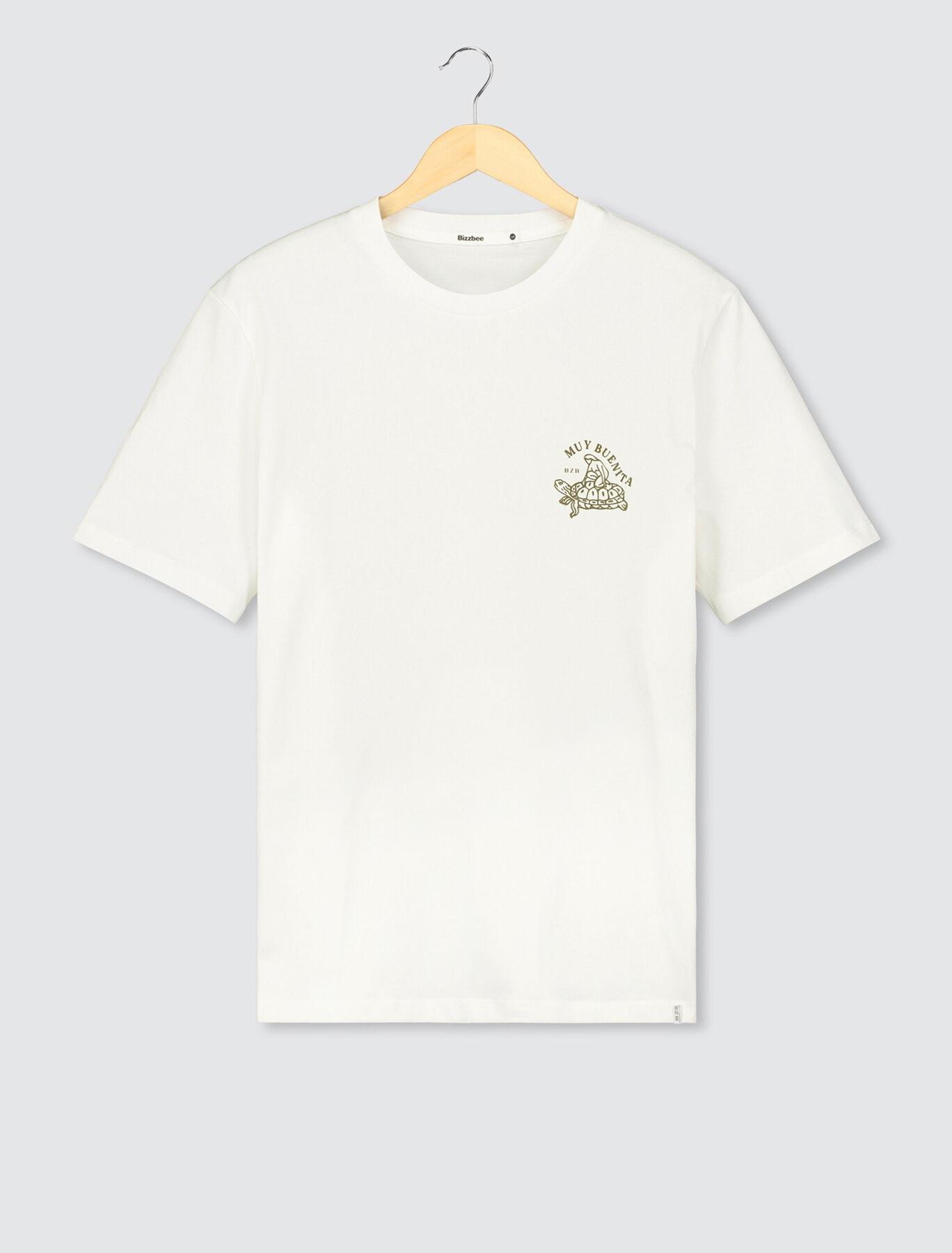 T-shirt imprimé tortue en coton BIO