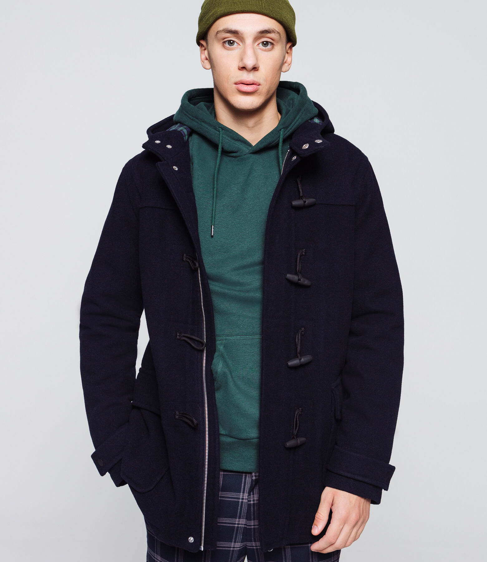Duffle coat en lainage