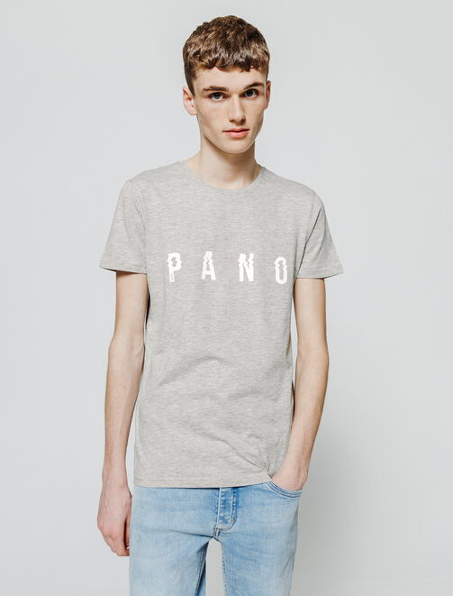 T-shirt message centré PANO homme