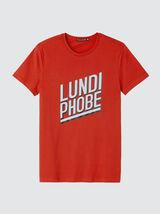 """T-shirt à message """"Lundi phobe"""""""
