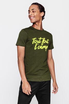 T-shirt print fluo