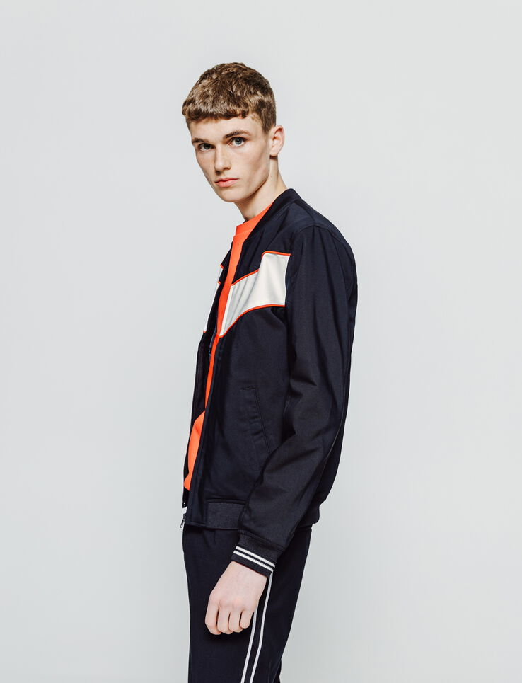 Bomber colorblock