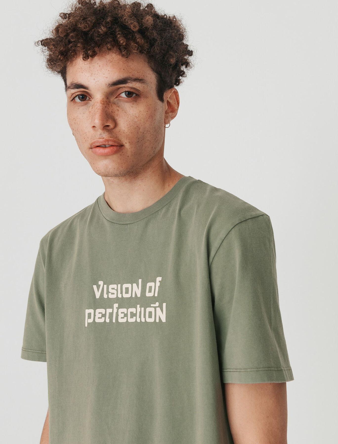 """T-shirt imprimé """"vision of perfection"""""""