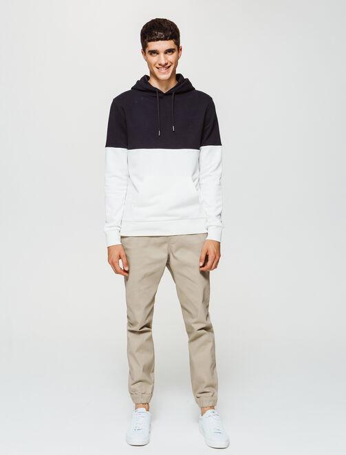 Pantalon jogger taille élastiquée homme