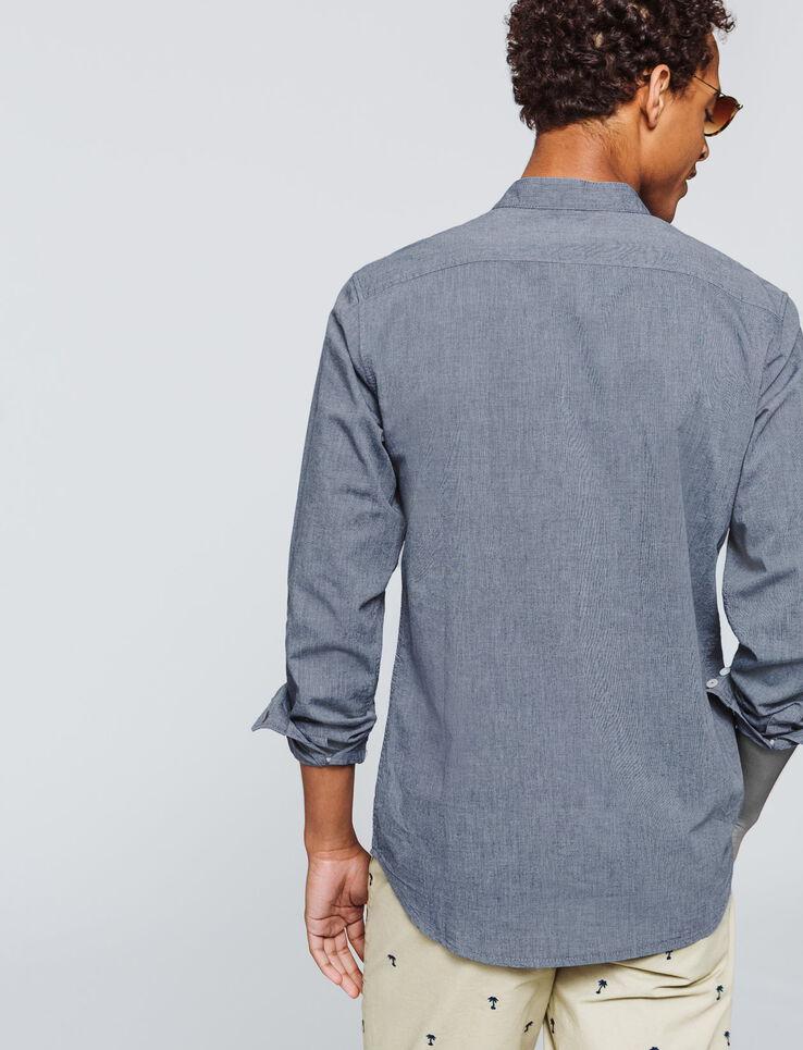 Chemise sans col fantaisie