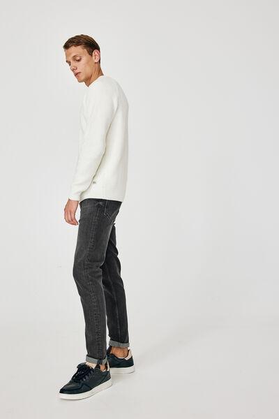Jean slim tapered vintage black