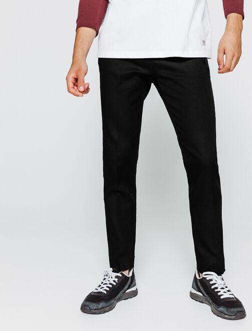 Pantalon de ville uni homme
