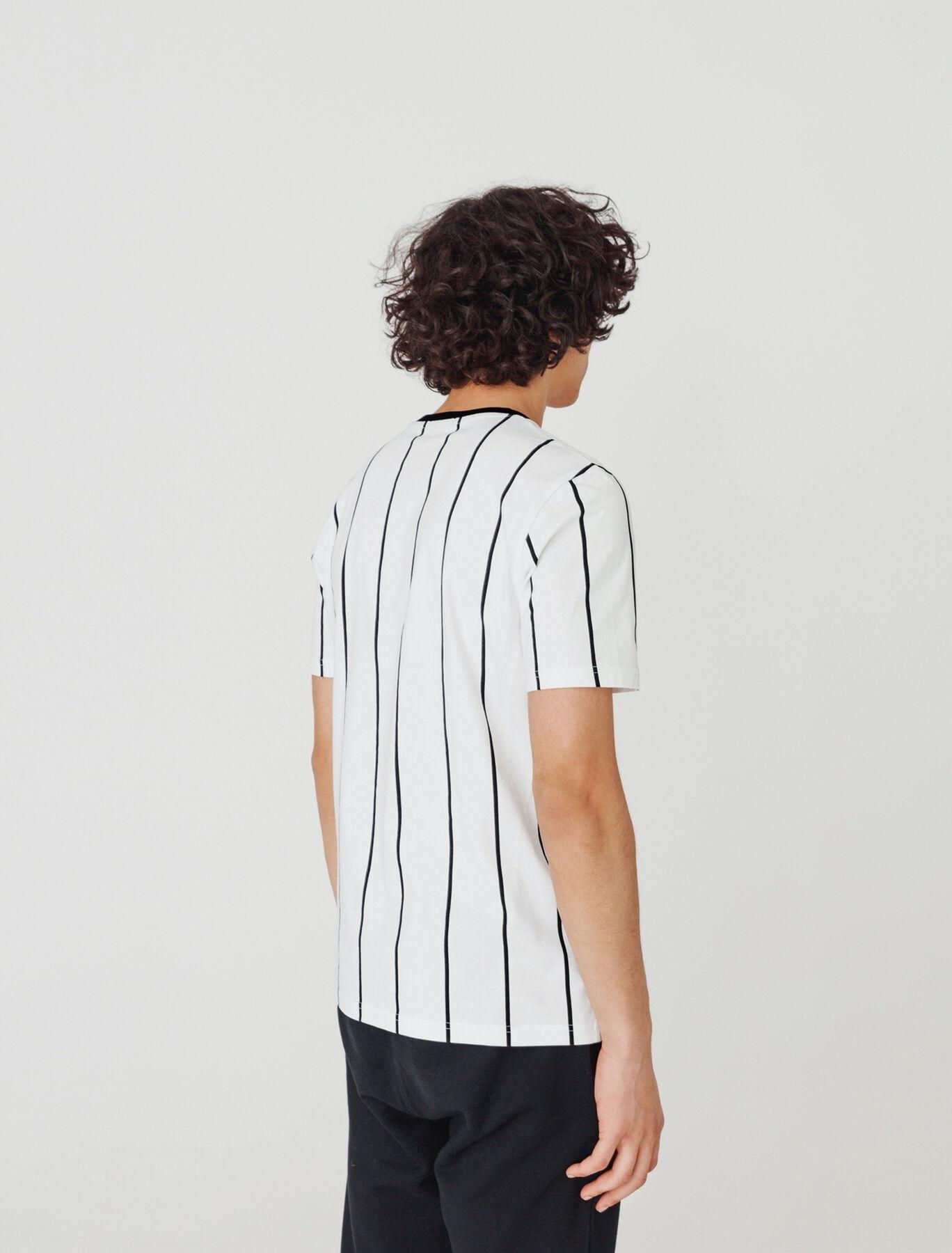 T-shirt rayures verticales en coton BIO