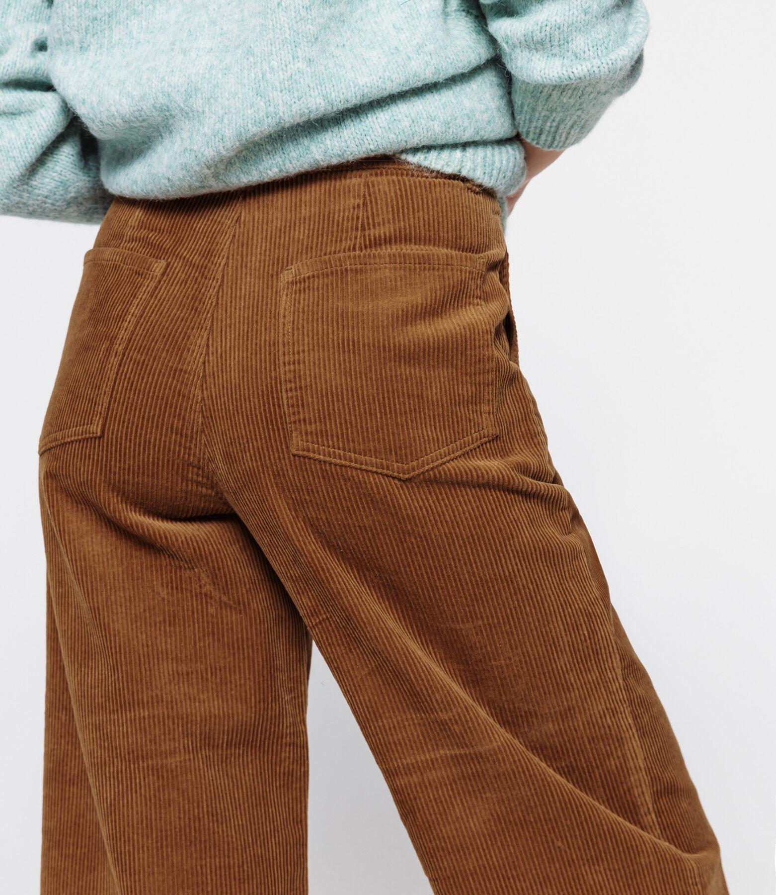 Pantalon Velours Wide Leg