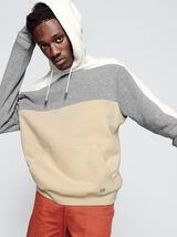 Sweat enfilé colorblock