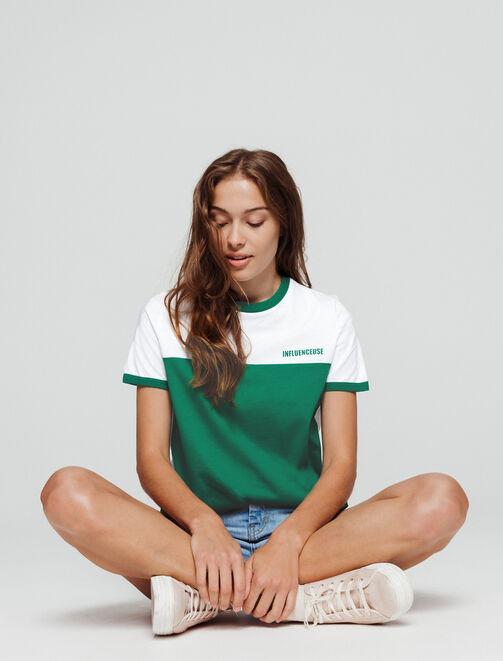 """T-shirt """"INFLUENCEUSE"""" femme"""