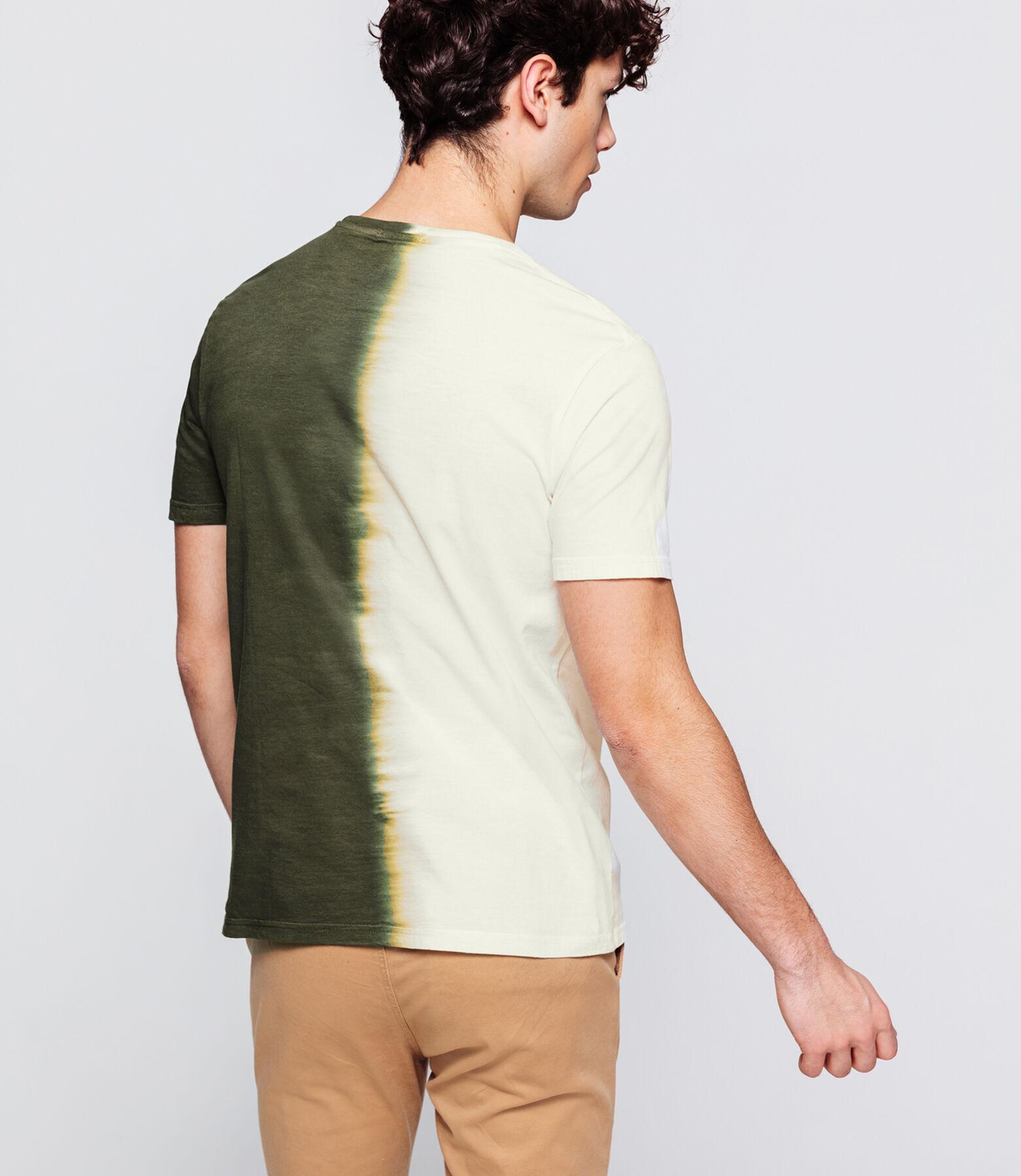 T-shirt bi-colore