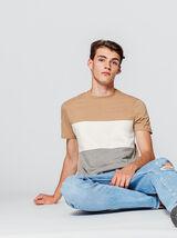 T-shirt color-block