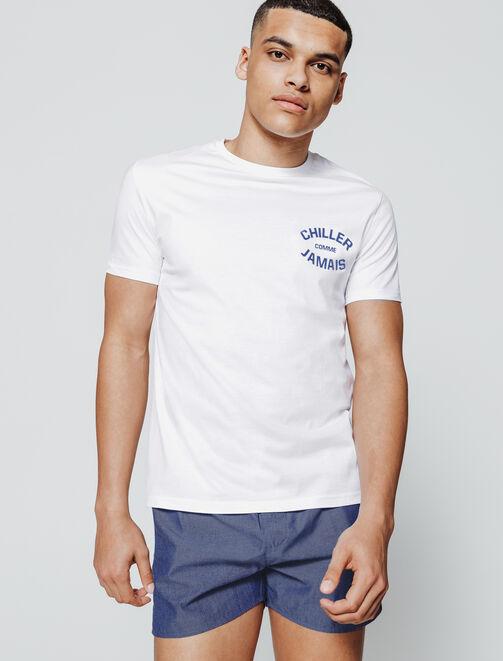 Pyjama Caleçon et Tee Shirt Imprimé homme