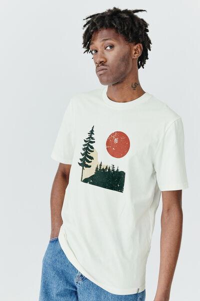 T-shirt imprimé paysage