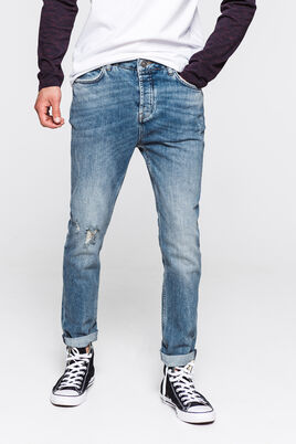 Jean slim tapered stone