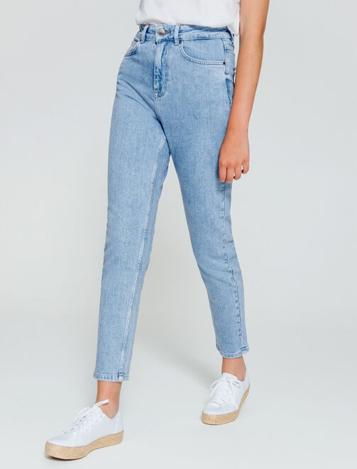 Jean MOM cropped femme