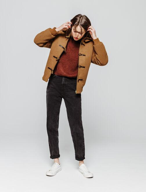 Manteau Duffle Coat en Laine femme