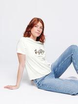 T-shirt en coton bio humour noel