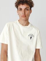 T-shirt humour brodé