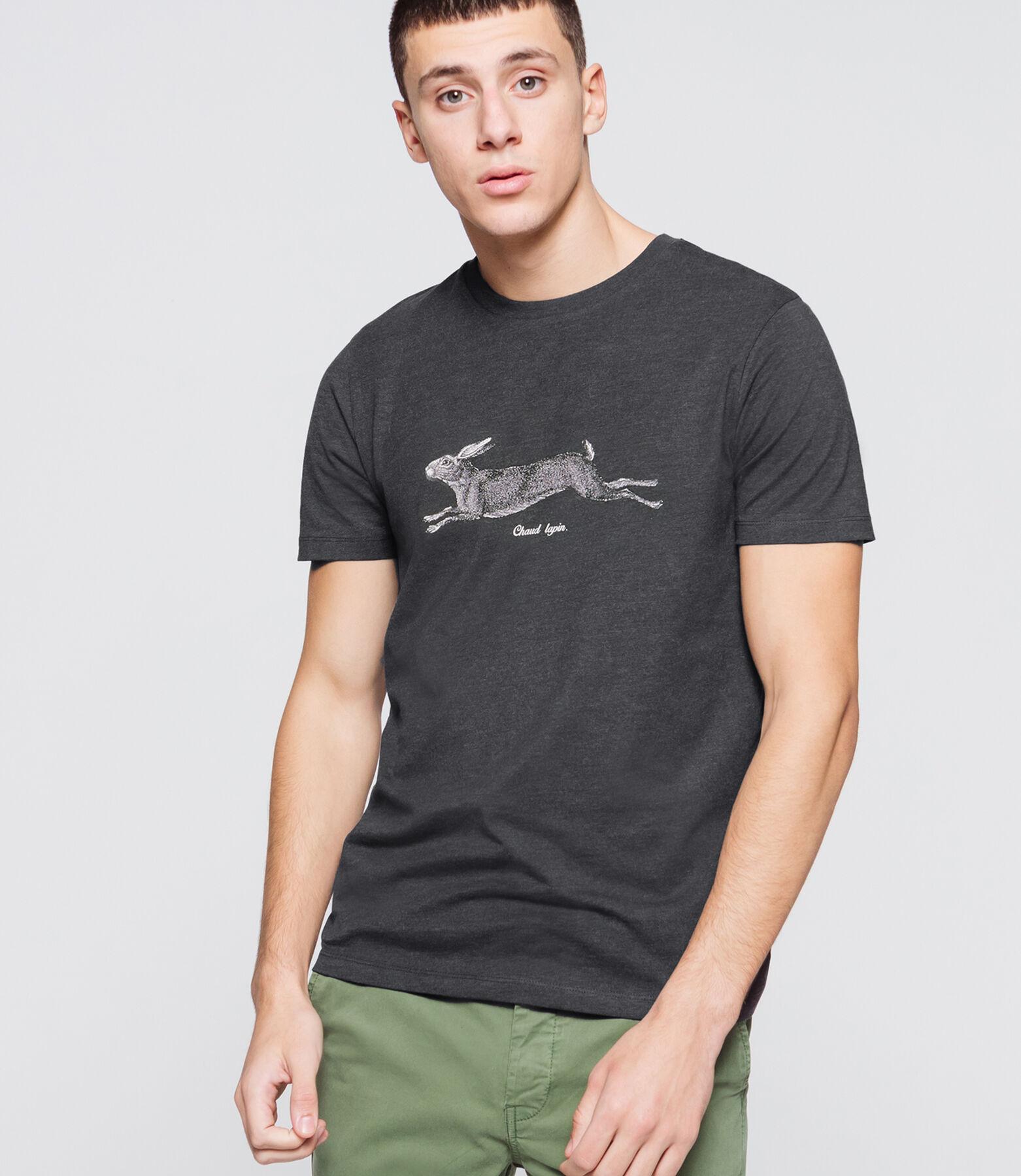 "T-shirt humour ""Chaud Lapin"""