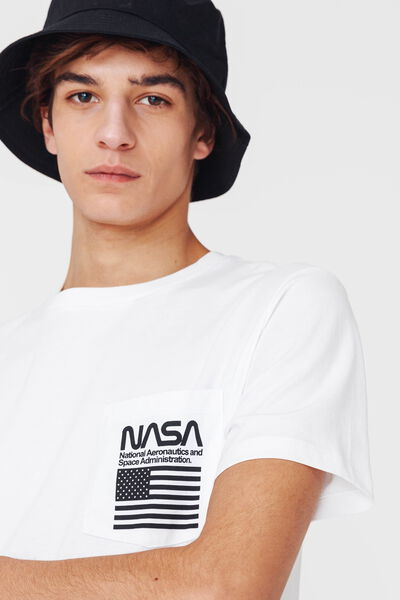 """T-shirt avec poche """"Nasa"""""""