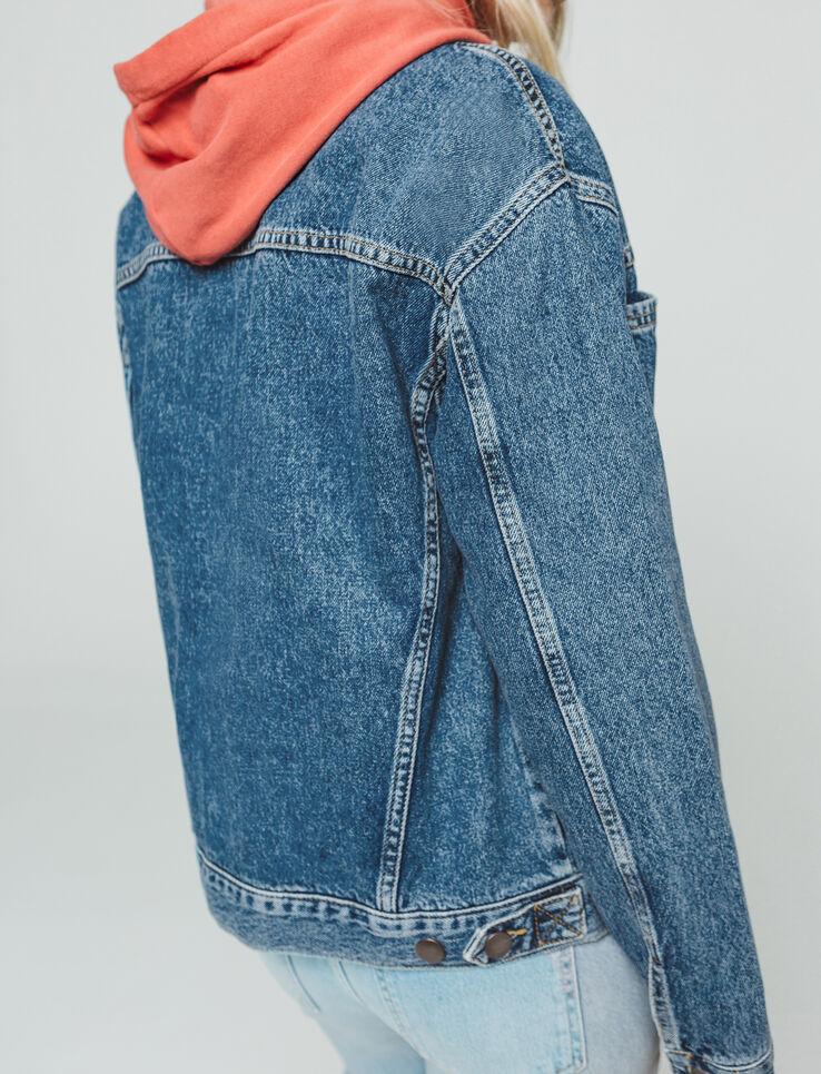 Veste en jean boxy