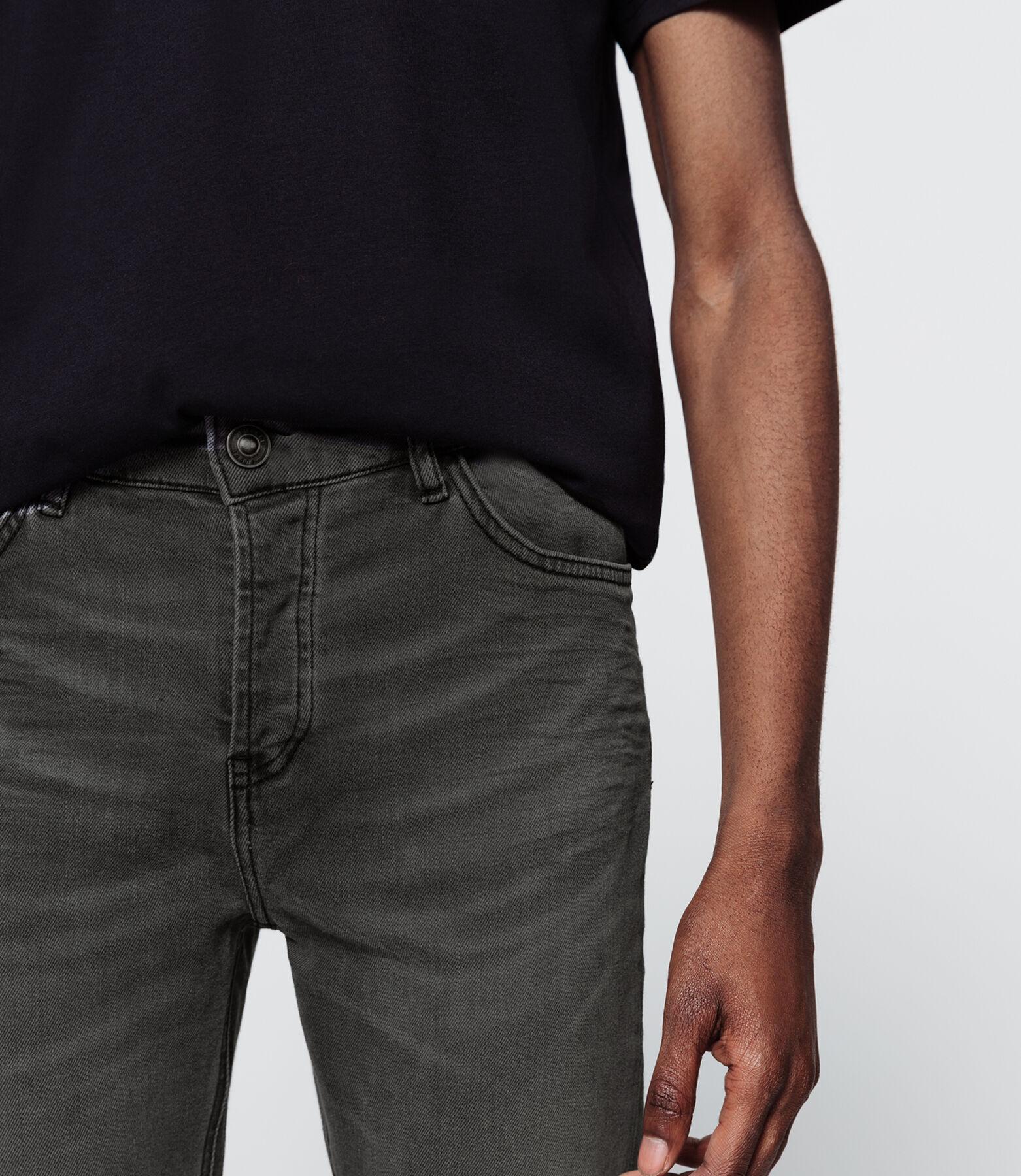 Jean slim gris
