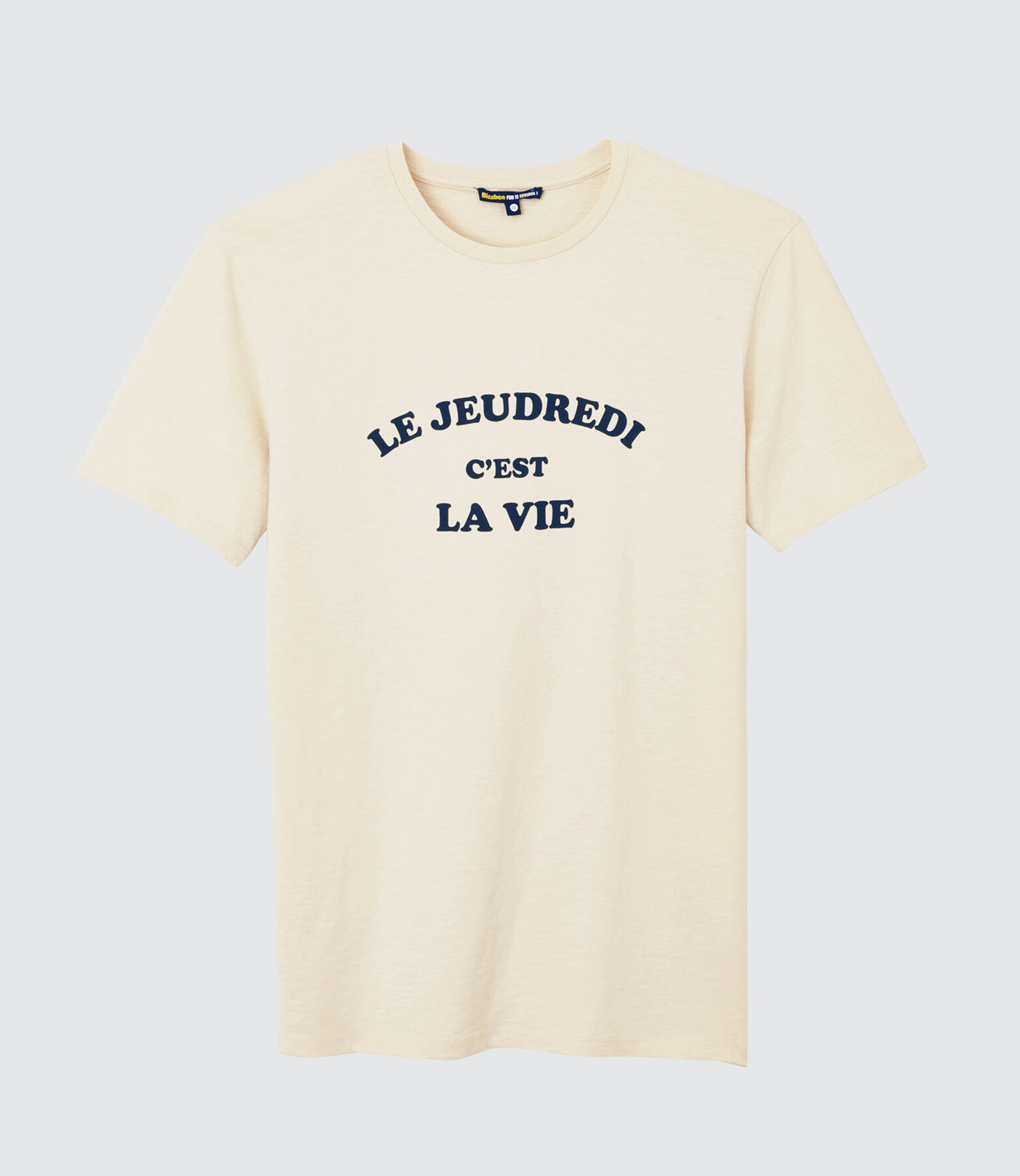 "T-shirt à message ""Jeudredi"""