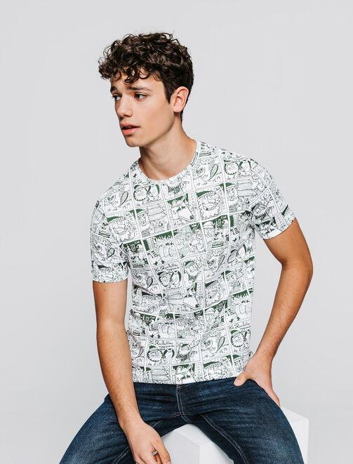 T-shirt BD Noël homme