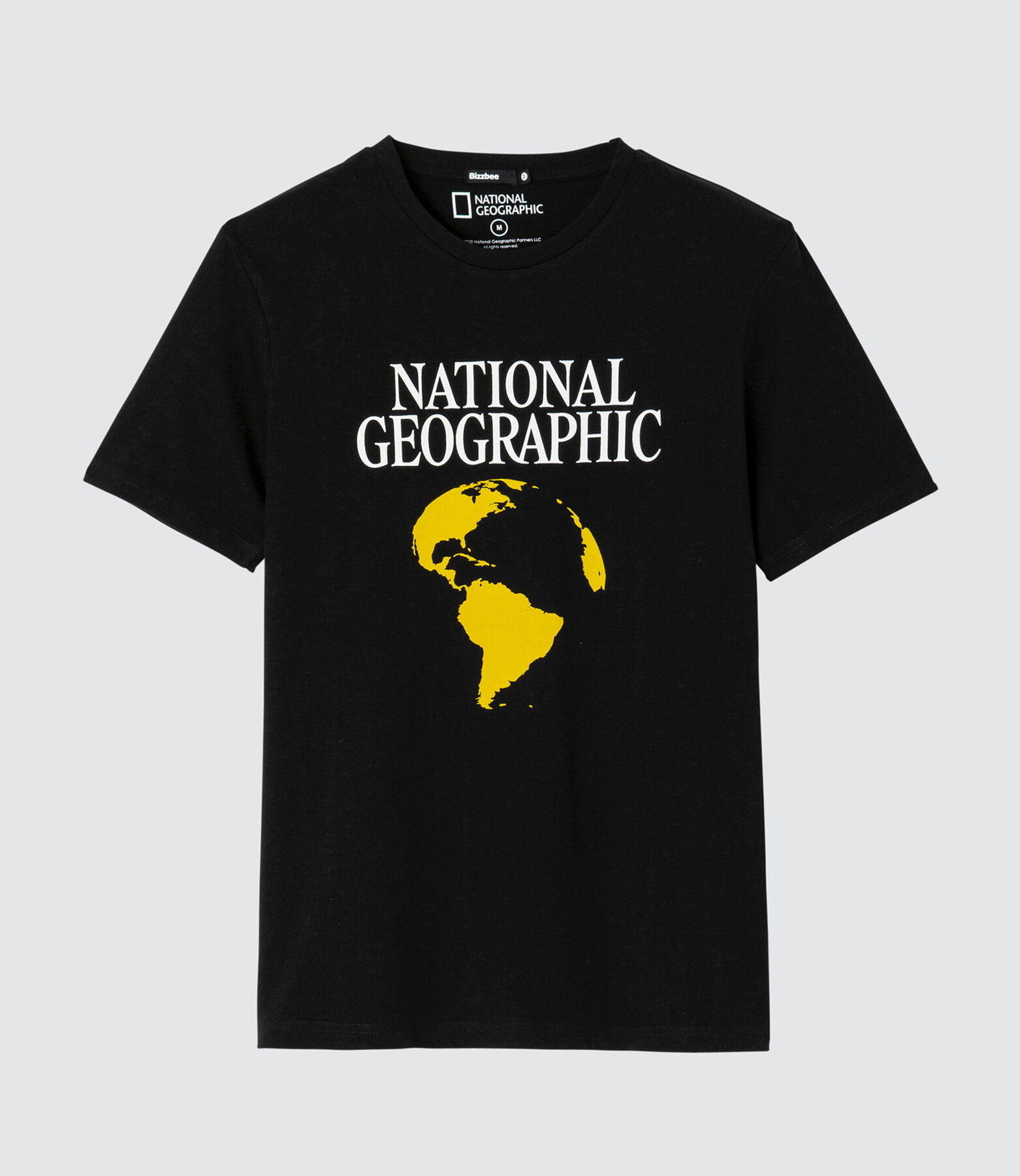 "T-shirt ""National Geographic"" issu de l'agricultur"