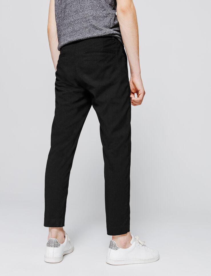 Pantalon de ville cropped