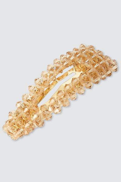 Pince unitaire perles translucides