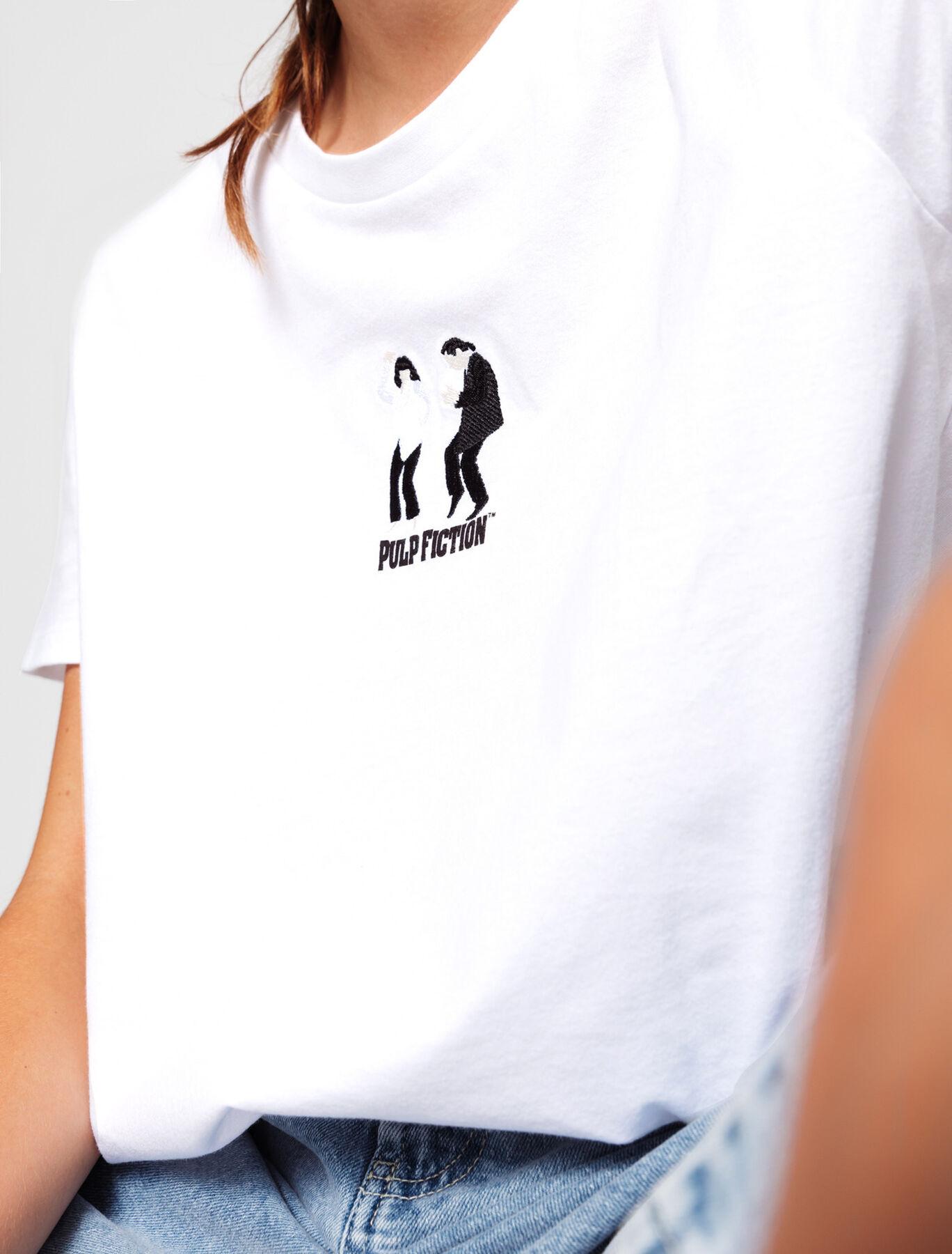 T-shirt licence Pulp Fiction brodé