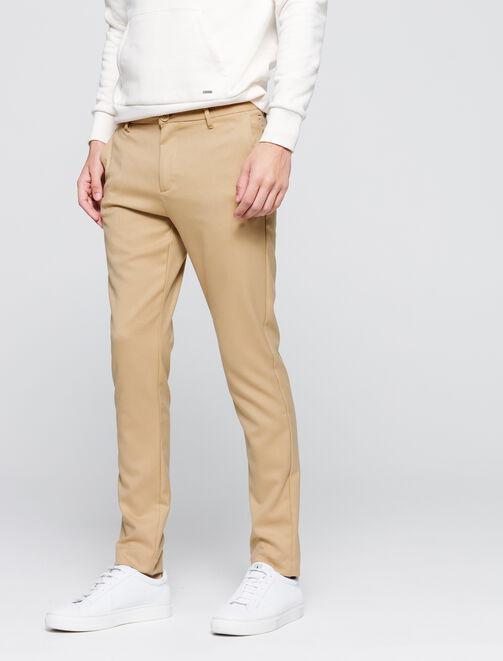 Pantalon de ville fluide fantaisie homme