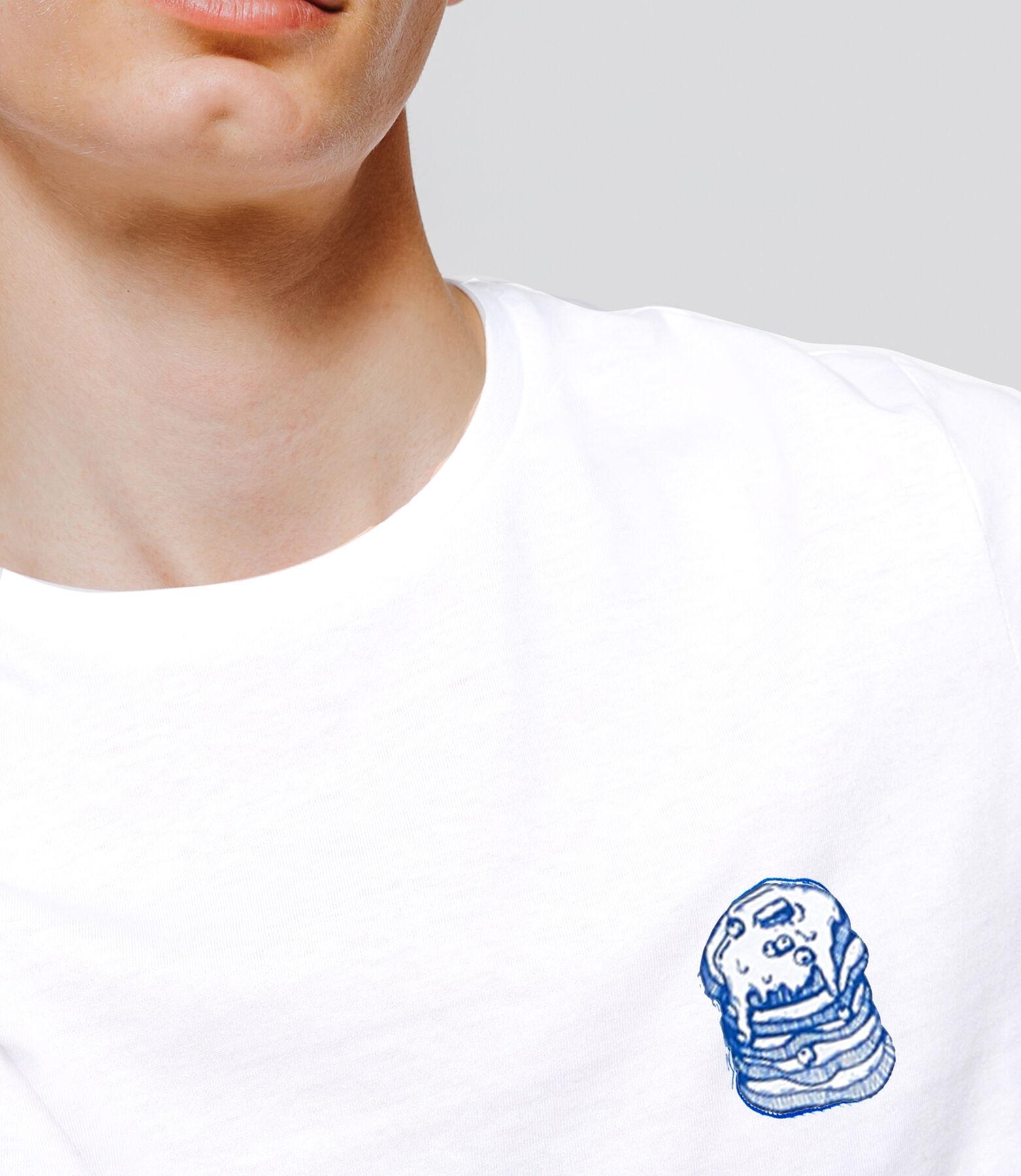 T-shirt animation Junkfood devant&dos