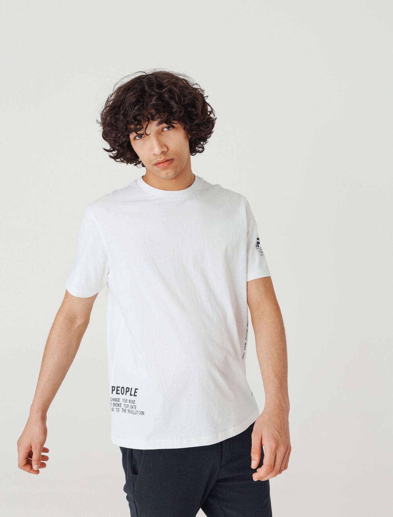 T-shirt imprimés aléatoires