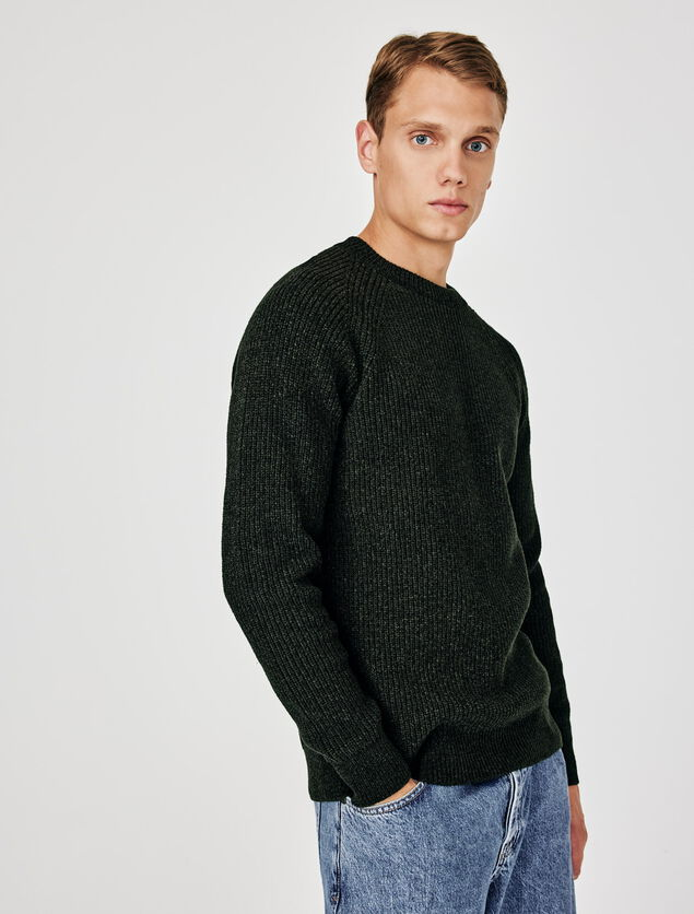 Pull touché velours