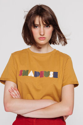 """T-shirt message """"SNAPEUSE"""""""