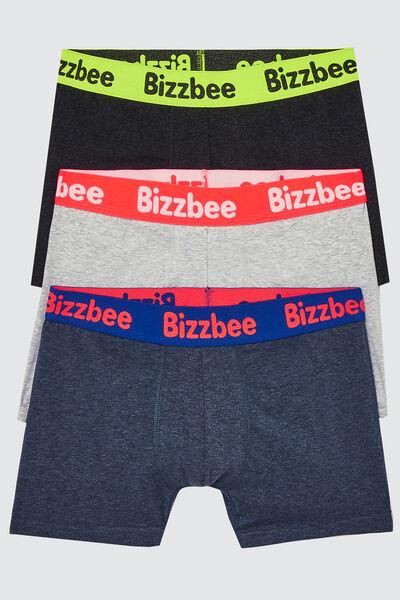 Boxers ceinture fluo Lot*3