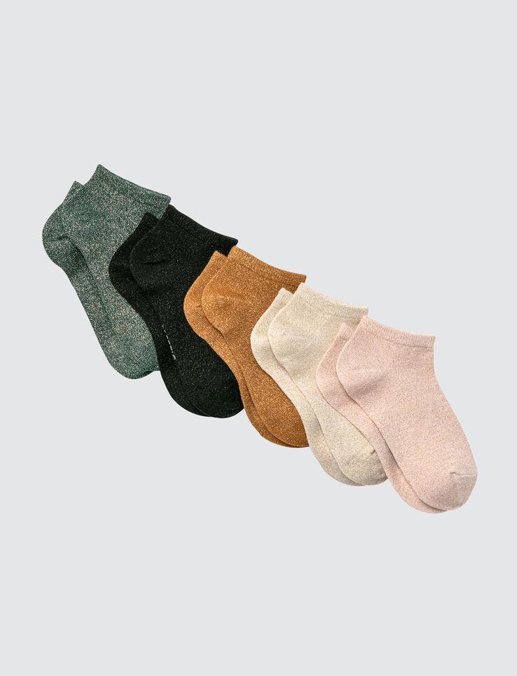 Lot de 5 Socquettes Bazzic Lurex