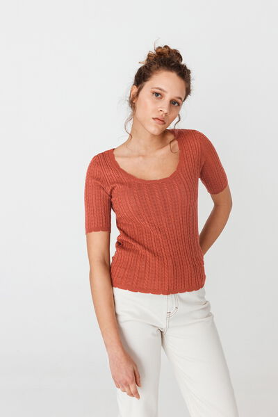 Pull manches courtes