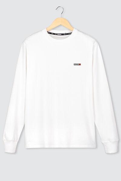 T-shirt manches longues avec imprimé dos