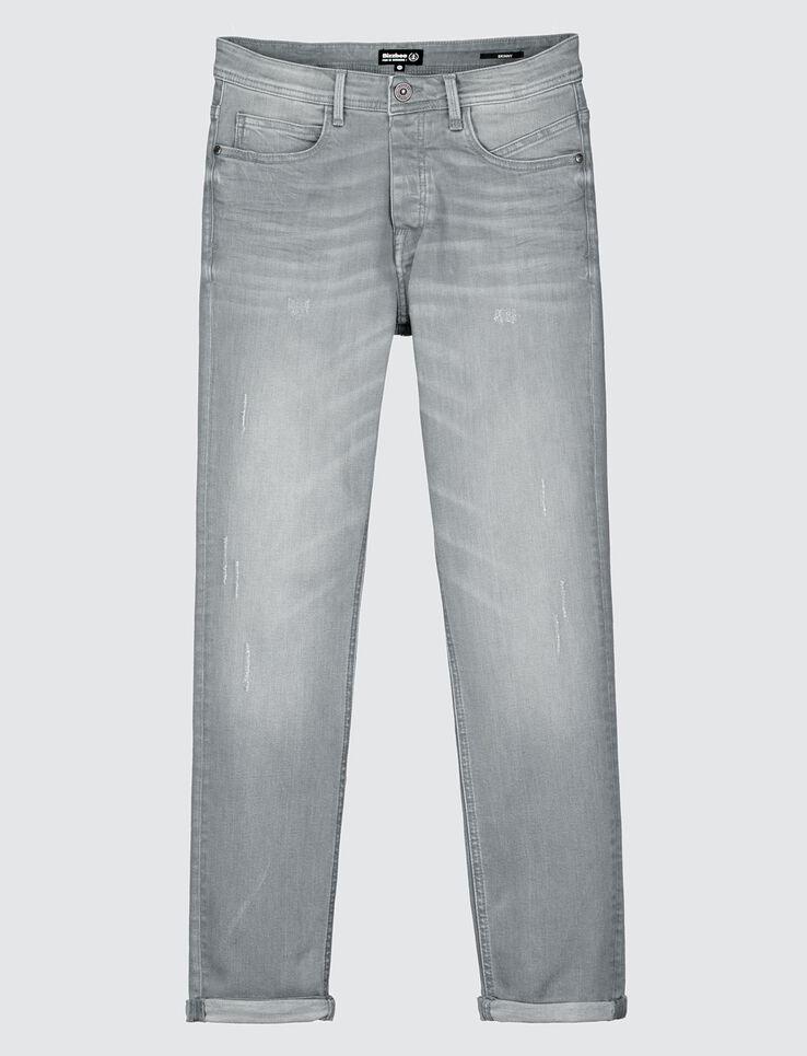 Jean skinny gris clair