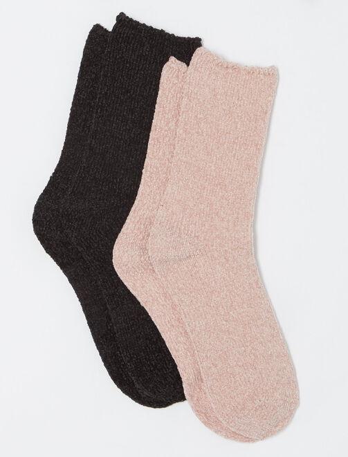 Lot de chaussettes cocooning femme