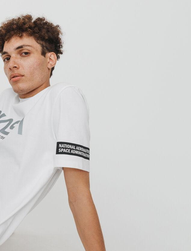 T-shirt réfléchissant NASA