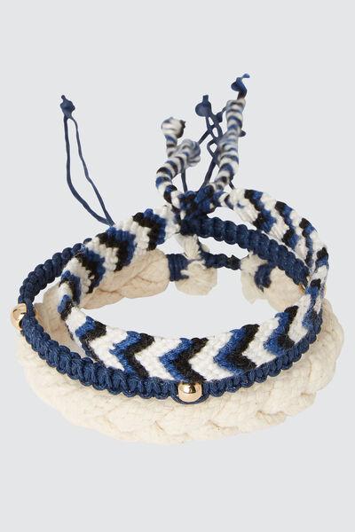 Set de bracelets tressés