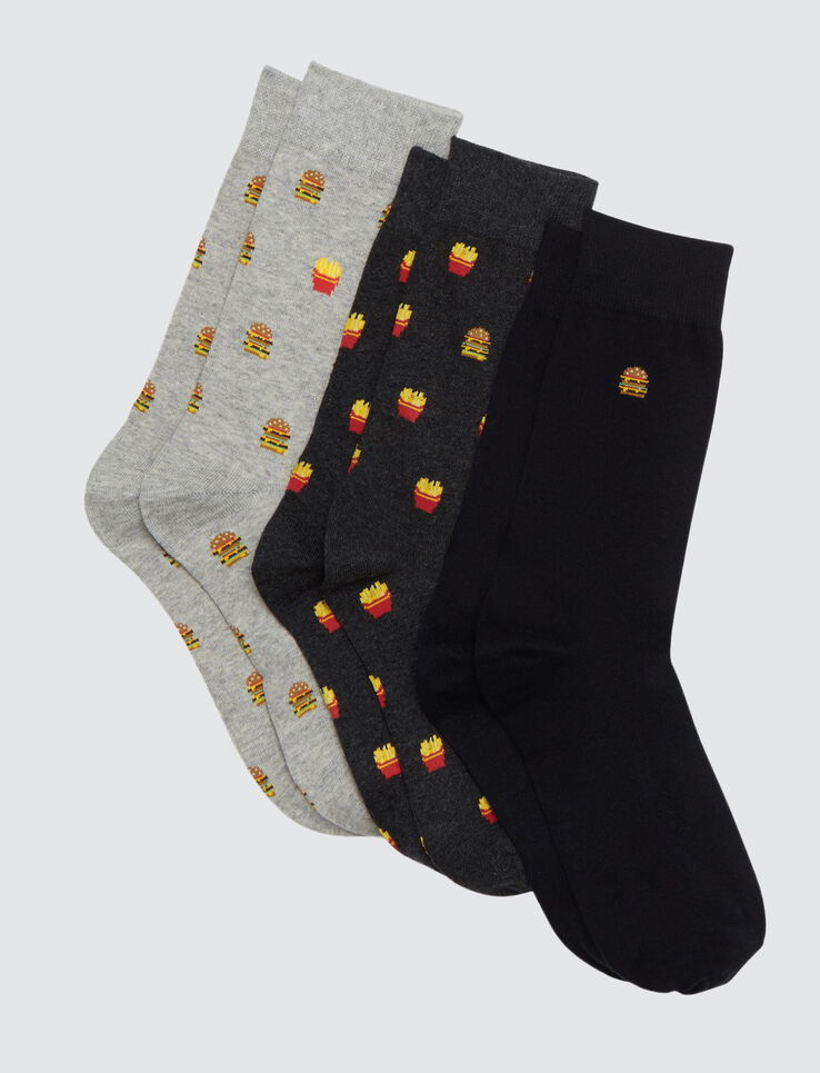 Lot de chaussettes junk food